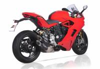 QD Exhaust - QD Exhaust Twin Monkey Slip-On: Ducati Supersport 939