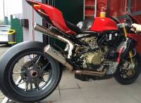 Exhaust - Full Systems - FM Projects - FM Projects Full Undertail Exhaust: Ducati Panigale 1199-1299