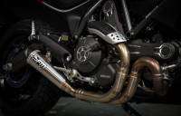 FM Projects - FM Projects Classic Slip-On Exhaust : Ducati Scrambler 803