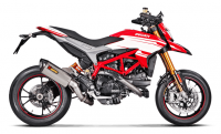 Akrapovic - Akrapovic Titanium Full Exhaust System: Ducati Hypermotard, Hyperstrada 939/SP - Image 2