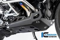 ILMBERGER CARBON - Ilmberger Carbon Fiber Gloss Skid Plate: BMW R1250GS, Adventure