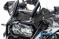 ILMBERGER CARBON - Ilmberger Carbon Fiber Gloss Instrument Panel Wind Guard: BMW R1250GS, Adventure