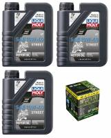 LIQUI MOLY - Liqui Moly Street 4T Oil Change Kit: Yamaha Tenere 700