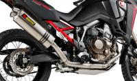 Exhaust - Slip-Ons - Akrapovic - Akrapovic Full Exhaust Honda Africa Twin '20+