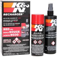 Tools, Stands, Supplies, & Fluids - Cleaning Supplies - K&N - K&N Air Filter Aerosol Care Kit