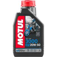 Tools, Stands, Supplies, & Fluids - Fluids - Motul - Motul 3000 Mineral 4T Engine Oil: 20W-50 1 US Qt