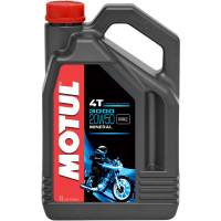 Tools, Stands, Supplies, & Fluids - Fluids - Motul - Motul 3000 Mineral 4T Engine Oil: 20W-50 1 US Gallon