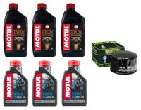Motul - Motul Engine/Transmission Oil and Filter Change Kit: Ural 750 Series
