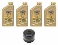 Tools, Stands, Supplies, & Fluids - Fluids - Castrol - Castrol Power 1 5W-40 4T Oil Change Kit: BMW R1250GS/RS, R1200GS/R/RS/RT