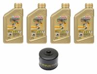 Castrol - Castrol Power 1 5W-40 4T Oil Change Kit: BMW R1250GS/RS, R1200GS/R/RS/RT