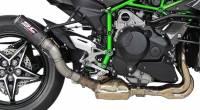 SC Project - SC Project CR-T Slip-On Exhaust: Kawasaki Ninja H2 '15+