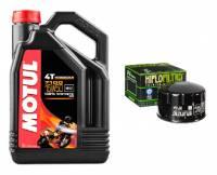 Motul - Motul 7100 15W-50 4T Engine Oil Change Kit: BMW R1200GS '04-'12, Adventure '05-'13, R nineT