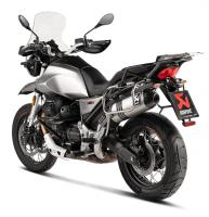 Exhaust - Slip-Ons - Akrapovic - Akrapovic Titanium Slip-On Exhaust: Moto Guzzi V85 TT '19+