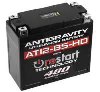 Antigravity  - Antigravity Heavy-Duty Re-Start Lithium Ion Battery: Ducati Monster 1200-821-797, Multistrada 1200-1260, Sport Classic, Scrambler, Hypermotard, Diavel, 998-999-1098-1198