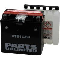 Electrical, Lighting & Gauges - Batteries and Spare Parts - Parts Unlimited  - Parts Unlimited AGM Maintenance-Free Battery: BMW R1250GS, R1200GS, F800GS, F700GS, R nineT