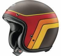 Arai - Arai Classic-V Groovy Helmet: Brown Frost