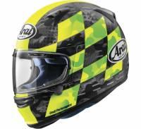 Arai - Arai Regent-X Patch Helmet: Matte Fluorescent Yellow