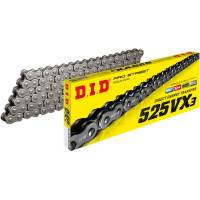 D.I.D - 525 VX3 Drive Chain 120 Links [Natural]