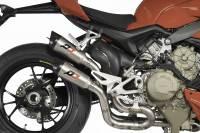 QD Exhaust - QD Exhaust Twin Titanium Gunshot Exhaust: Ducati Streetfighter V4/S