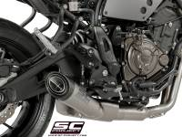 Exhaust - Full Systems - SC Project - SC Project S1 Full Exhaust [With Cat]: Yamaha XSR700, MT-07