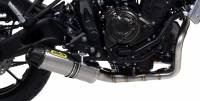 Exhaust - Full Systems - Arrow - Arrow Jet Full Exhaust System: Yamaha XSR700, MT-07, FZ-07