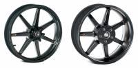 BST Wheels - 7 Spoke Wheels - BST Wheels - BST 7 TEK Carbon Fiber Wheel Set: Kawasaki Z900RS/Cafe