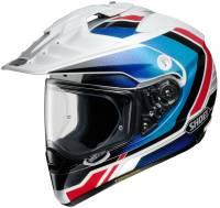 Shoei - Shoei Hornet X2 Sovereign Helmet TC-10 [Red/White/Blue]