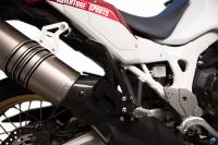 Exhaust - Mid Pipes - Termignoni - Termignoni Stainless Link Pipe and Carbon Heat Shield CRF1000L Africa Twin '18-'19