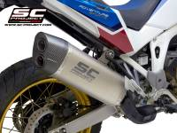 SC Project - SC Project Adventure Slip-on Exhaust: Honda Africa Twin CRF1100L '20+