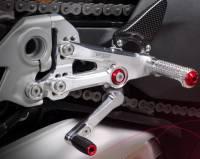 Bonamici Racing - Bonamici Adjustable Billet Rearsets: Ducati Streetfighter V4/S [Black Only] - Image 2