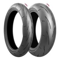 Wheels & Tires - Tires - Bridgestone Tires - Bridgestone Battlax RS11 Tire Set: Ducati Multistrada 1200-1260, Monster 1200, Supersport 939