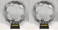Galfer - Galfer 320mm Oversized Wave Brake Rotors: BMW R1200GS '04-18 / Adventure '06-'18