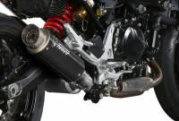 Mivv Exhaust - Mivv GP Pro Black Stainless Slip-on Exhaust: BMW F900R