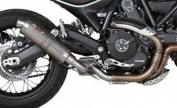 Mivv Exhaust - Mivv GP Titanium Slip-on Exhaust: Ducati Scrambler '15-'20