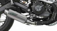 Mivv Exhaust - Mivv GP Pro Titanium Slip-on Exhaust: Ducati Scrambler '15-'20