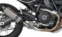 Mivv Exhaust - Mivv Suono Stainless Steel Slip-on Exhaust: Ducati Scrambler '15-'20