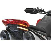 Body - Plate Relocator - New Rage Cycles - New Rage Cycles Rear Turn Signals: Ducati Hypermotard 950/SP