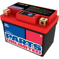 Parts Unlimited  - Parts Unlimited Lithium Ion Battery: Yamaha WR250R '08-'16, Tenere 700