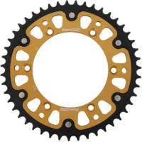 Supersprox - Supersprox Stealth Rear Sprocket [Gold]: Yamaha WR250R '08-'17