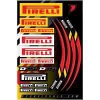 Pirelli - Pirelli Decal Sheet
