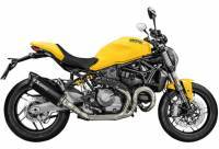 Akrapovic - Akrapovic Titanium Full Exhaust System: Ducati Monster 1200/S-821 '14-'16