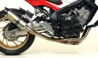 Exhaust - Full Systems - Arrow - Arrow Thunder Titanium and Stainless Headers Exhaust: Honda CB650F '14-'18