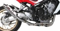Mivv Exhaust - Mivv GP Titanium Full Exhaust: Honda CB650F '14-'18