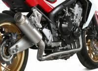 Mivv Exhaust - Mivv GP Pro Titanium Full Exhaust: Honda CB650F '14-'18