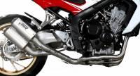 Mivv Exhaust - Mivv MK3 Stainless Steel Full Exhaust: Honda CB650F '14-'18
