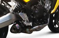Termignoni - Termignoni Relevance Stainless/Carbon Fiber 4-1 Full Exhaust: Honda CB650F '14-'18