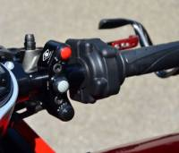 Parts - Hand & Foot Controls - Ducabike - Ducabike Billet RIGHT HAND 3 BUTTON SWITCH: Panigale V4/V4S [To Be Used With OEM Brembo or RCS Brake Master Cylinder]