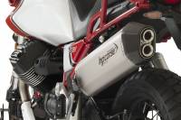 HP Corse - HP Corse SPS Carbon Titanium Slip-on Exhaust: Moto Guzzi V85 TT