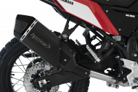 HP Corse - HP Corse SPS Black Short with Carbon Slip-on Exhaust: Yamaha Tenere 700