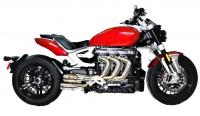 Competition Werkes - Competition Werkes Slip-on Exhaust: Triumph Rocket 3 [2020+]